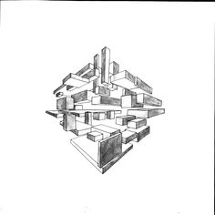 Two Point Perspective Art Design Architecture Drawing Sketch
