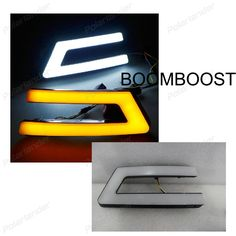 BOOMBOOST 2 pcs auto accessory led Daytime running lights Car styling for Ford Focus 2012-2014 #Affiliate
