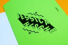Type Thoughts of Jessica Hische on Behance