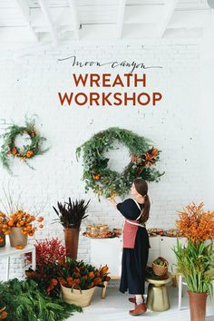 WREATH WORKSHOP!