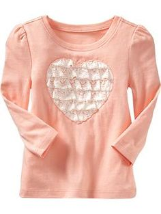 Lace-Trim Graphic Tees for Baby | Old Navy
