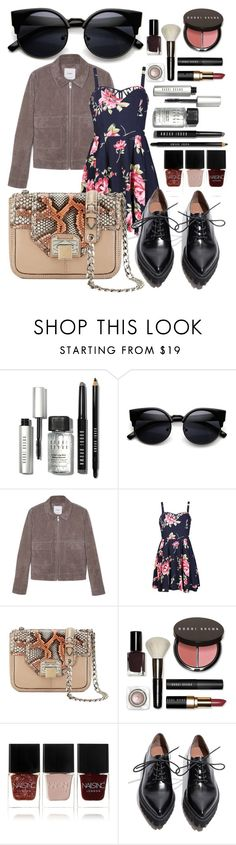 """""""Untitled #31"""" by cemlais22 on Polyvore featuring Bobbi Brown Cosmetics, MANGO, Ally Fashion, Rebecca Minkoff, Nails Inc., Jeffrey Campbell, women's clothing, women, female and woman"""