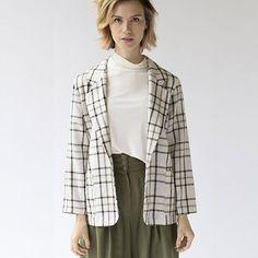 Plaid Blazer #womensfashion #fashion #style #preownedclothing #style #clothes #shop #vintage #vintageshop #nashville #nashvilleshop #plaid #plaidblazer
