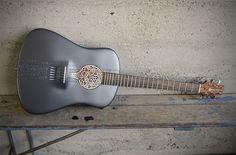 3dprint acoust, sterling silver, musical instruments, 3dprint guitar, guitars