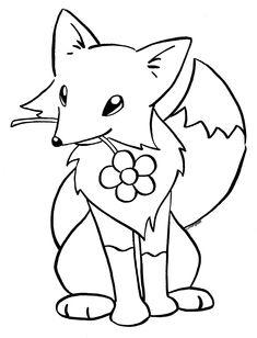 kitsune coloring book page by lunarspoondeviantartcom on deviantart