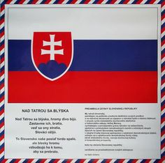 tabula hymna vlajka - Hľadať Googlom Bratislava, Chevrolet Logo, Activities For Kids, Diy And Crafts, Education, Logos, Children, Ms, Geography