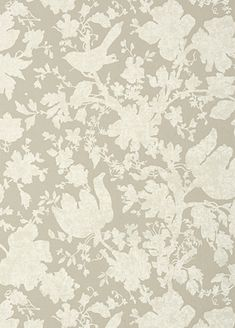 Garden Silhouette wallpaper from Anna French - AT6040 - Neutral