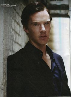 """Here's your (practically) daily dose of Cumberbatch, from me. ;)  (Photo for the Radio Times)"""