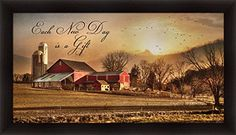Each New Day by Lori Deiter Red Barn Landscape Wall Art P... https://www.amazon.com/dp/B00PCPO67Q/ref=cm_sw_r_pi_dp_x_-CtaAbQQPPXNX