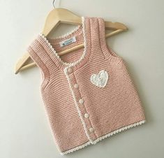 Haraşo Knitted Side Buttoned Heart Trimmed Easy Child Vest With . Black Women Fashion, Womens Fashion, Pin Up Looks, Fashion Jackson, Crochet Bebe, Moda Emo, Baby Knitting Patterns, Amelie, Down Hairstyles