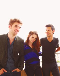 Robert, Kristen and Taylor <3