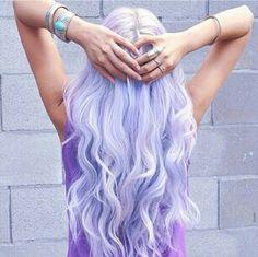 Love this Hair, violet, white, lobg, wavy. Perfect.