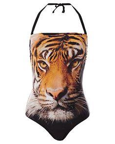 GEORGE tiger print swimsuit  #asdaofallplaces