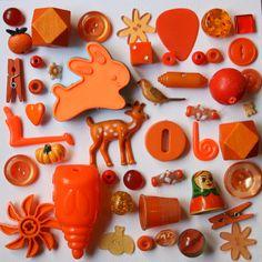 Orange Crush Stuff by Betty Jo Designs, via Flickr