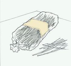 Pinebasket weaving instructions - Leftover Pine Needles in Bread Bag