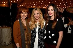 Reba McEntire Photos Photos - Reba McEntire, Reese Witherspoon, and Kacey Musgraves attend the Draper James Nashville store opening on October 28, 2015 in Nashville, Tennessee. - Draper James Nashville Store Opening