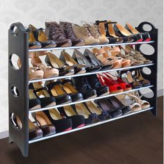 Linen Depot Direct 20 Pair Shoe Rack & Reviews | Wayfair