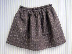 easy childrens skirt