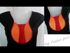 Pot Neck Designs - Easy Making / Cutting and Stitching in Hindi/Urdu - YouTube