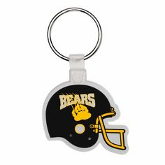 Attach the public to your next campaign with these soft plastic key tags. The…