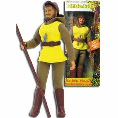 "Mego Dolls | Robin Hood 8"" tall Mego LITTLE JOHN Reissue Figure 