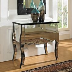 Amazon.com: 2 Hollywood Regency Mirrored Nightstands Dresser Bedroom Chest Furniture Bed Side Tables: Home & Kitchen