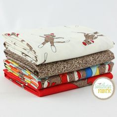Funky Monkey - Half Yard Bundle (EM.FM.4HY.B) by Erin Michael for Moda