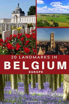 Landmarks in Belgium - 20 Landmarks and Monuments in Belgium