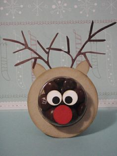 Sweet Treat Cup - Christmas - I'VE MADE THIS STAMPIN' UP TREAT.  IT'S VERY CUTE.