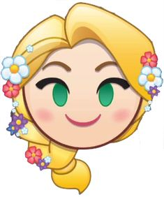 Rapunzel is an emoji in Disney Emoji Blitz. Rapunzel's hair drops down middle column, removing emojis on either side. Disney Wiki, Disney Art, Disney Drawings, Cute Drawings, Emoji Characters, Disney Characters, Anna E Elsa, Chibi Kawaii, Disney Decendants