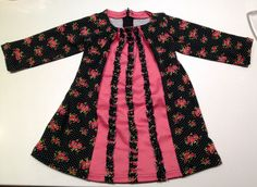 Sunny Sewing: Oud & Nieuw party dress jurk baby met ruches