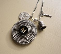Zipper necklace by s.a.r.a.   (salvaged and rescued art)