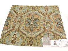 "(2 Same) #Pindler & Pindler #Fabric Sample 25.5"" x 26"" JUST for $4.99 EACH   Kundalini  Palmera  83% Rayon, 9% #Cotton, 5% Polyester, 3% Acrylic            + FREE SAMPLES!!! #fabric #supplies #cotton #pindler #kundalini #palmera #gift #woman #spring #sale #luxury"