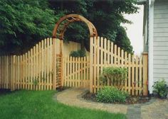 ornate fencing main line fence design installation of decorative fences arbors - Decorative Fencing