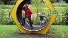 Human Sized Hamster Wheel #FAIL - #funny