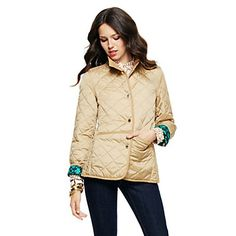 Love this Quilted Nylon Barn Jacket for $128 on C. Wonder want - in green :)