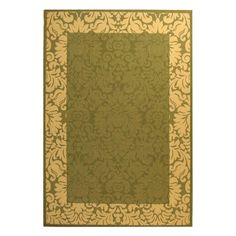 Have to have it. Safavieh Courtyard CY2727 Area Rug Olive/Natural - $32.99 @hayneedle