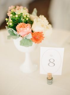 Like the table number design