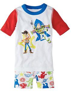 Disney•Pixar Toy Story Short John Pajamas from Hanna Andersson | To infinity and beyoooooond! #boyspajamas