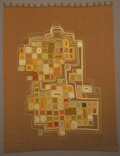 """Hanging, """"Composition in Squares"""", 1950–53"""