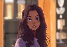 Laura Harrier / Fanart - (Spiderman Homecoming) by Michel Mims on ArtStation.