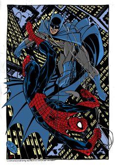 Batman e Spiderman