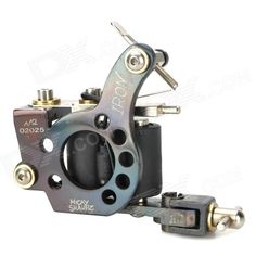 97176 Fashion Design Tattoo Machine Liner Shader Gun - Black