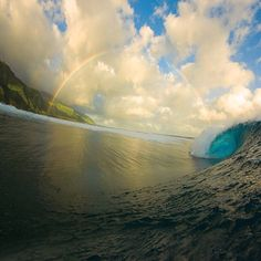 The magical wonders of Tahiti. Photo courtesy of islands on Instagram. Photo Credit: Zak Noyle.