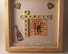 Scrabble engagement frame