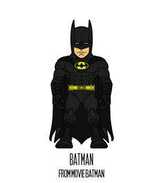 BATMAN  http://herosandvillains.tumblr.com/post/12234702116 by TM