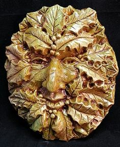 Hey, I found this really awesome Etsy listing at https://www.etsy.com/listing/184269812/holly-leaf-green-man-winter-solstice