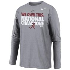 big sale 54ac7 83803 9 Best BAMA National Championship Gear images in 2019 ...