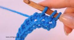 Tunisian Crochet: Twisted Knit Stitch