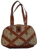 Women's US Polo Assn Purse Handbag Under Cover Chino/Brown